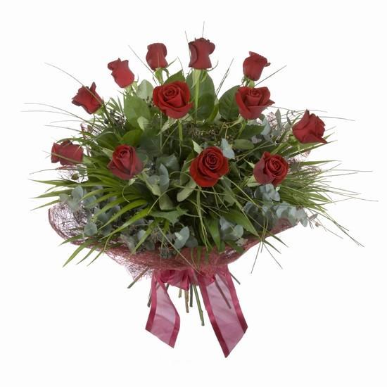 Etkileyici buket 11 adet kirmizi gül buketi  Şırnak çiçek siparişi vermek