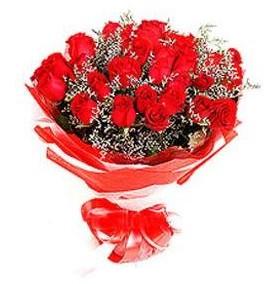 Şırnak yurtiçi ve yurtdışı çiçek siparişi  12 adet kırmızı güllerden görsel buket