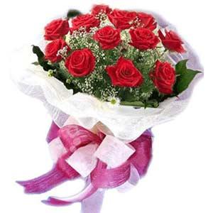 Şırnak hediye çiçek yolla  11 adet kırmızı güllerden buket modeli