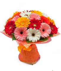 Renkli gerbera buketi  Şırnak çiçek servisi , çiçekçi adresleri