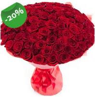 Özel mi Özel buket 101 adet kırmızı gül  Şırnak çiçek servisi , çiçekçi adresleri