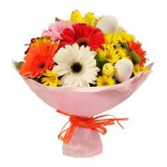 Karışık mevsim buketi Mevsimsel çiçek  Şırnak cicek , cicekci
