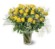 Şırnak internetten çiçek siparişi  15 adet sarigül mika yada cam vazoda