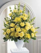 Şırnak internetten çiçek siparişi  sari güllerden sebboy tanzim çiçek siparisi