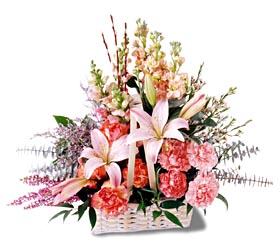 Şırnak internetten çiçek siparişi  mevsim çiçekleri sepeti özel tanzim