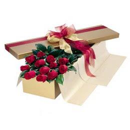 Şırnak anneler günü çiçek yolla  10 adet kutu özel kutu
