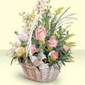 Şırnak çiçek online çiçek siparişi  sepette pembe güller