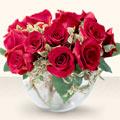 Şırnak kaliteli taze ve ucuz çiçekler  mika yada cam içerisinde 10 gül - sevenler için ideal seçim -