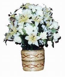 yapay karisik çiçek sepeti   Şırnak yurtiçi ve yurtdışı çiçek siparişi