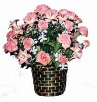 yapay karisik çiçek sepeti  Şırnak kaliteli taze ve ucuz çiçekler