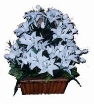 yapay karisik çiçek sepeti   Şırnak uluslararası çiçek gönderme