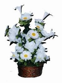 yapay karisik çiçek sepeti  Şırnak cicekciler , cicek siparisi