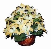 yapay karisik çiçek sepeti   Şırnak internetten çiçek siparişi