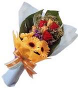 güller ve gerbera çiçekleri   Şırnak çiçekçi telefonları