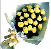sari güllerden sade buket  Şırnak çiçekçi mağazası