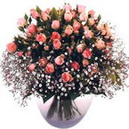 büyük cam fanusta güller   Şırnak çiçek satışı