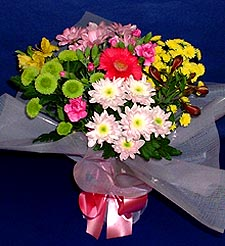 Şırnak internetten çiçek satışı  küçük karisik mevsim demeti