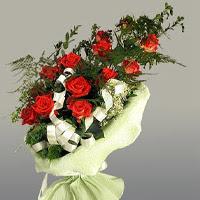 Şırnak çiçek siparişi sitesi  11 adet kirmizi gül buketi sade haldedir
