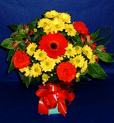 Şırnak çiçek siparişi sitesi  sade hos orta boy karisik demet çiçek
