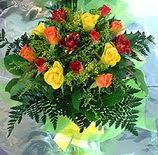 13 adet karisik gül buketi demeti   Şırnak hediye sevgilime hediye çiçek