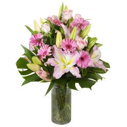 vazo içerisinde karisik mevsim çiçekleri  Şırnak cicek , cicekci