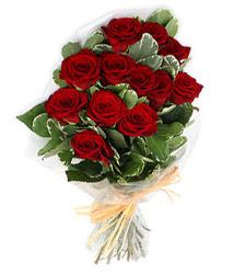 Şırnak çiçek yolla  9 lu kirmizi gül buketi.