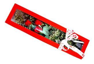Şırnak internetten çiçek satışı  Kutuda 3 adet gül