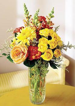 Şırnak çiçek online çiçek siparişi  mika yada cam içerisinde karisik mevsim çiçekleri