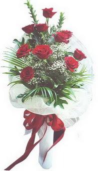 Şırnak internetten çiçek satışı  10 adet kirmizi gülden buket tanzimi özel anlara