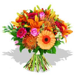 Şırnak ucuz çiçek gönder  Karisik kir çiçeklerinden görsel demet
