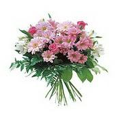 karisik kir çiçek demeti  Şırnak hediye çiçek yolla