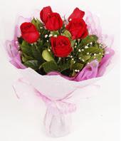 9 adet kaliteli görsel kirmizi gül  Şırnak çiçek , çiçekçi , çiçekçilik