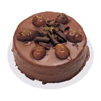 Kestaneli çikolatali yas pasta  Şırnak çiçekçi mağazası