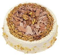 Karamelli 4 ile 6 kisilik yas pasta  Şırnak çiçek satışı