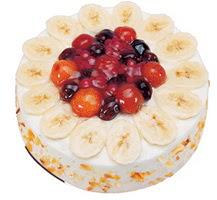 Meyvali 4 ile 6 kisilik yas pasta leziz  Şırnak çiçek siparişi sitesi