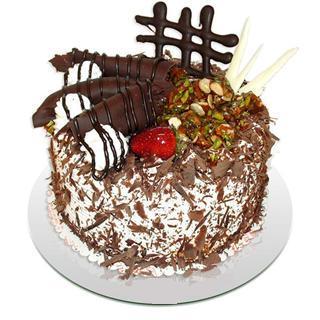 4 ile 6 kisilik çikolatali yas pasta  Şırnak online çiçekçi , çiçek siparişi