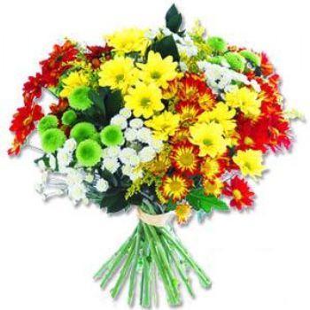 Kir çiçeklerinden buket modeli  Şırnak uluslararası çiçek gönderme