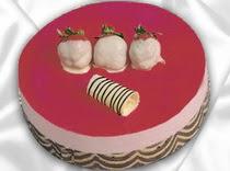pasta siparisi 4 ile 6 kisilik yas pasta çilekli yaspasta  Şırnak güvenli kaliteli hızlı çiçek