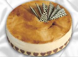 taze pasta 4 ile 6 kisilik yas pasta karamelli yaspasta  Şırnak online çiçek gönderme sipariş