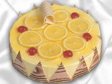 taze pastaci 4 ile 6 kisilik yas pasta limonlu yaspasta  Şırnak uluslararası çiçek gönderme