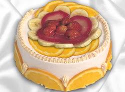 leziz pastane 4 ile 6 kisilik yas pasta meyvali yaspasta  Şırnak online çiçekçi , çiçek siparişi
