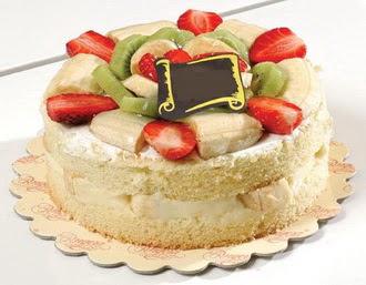 pasta siparisi 4 ile 6 kisilik karisik meyvali yas pasta  Şırnak güvenli kaliteli hızlı çiçek