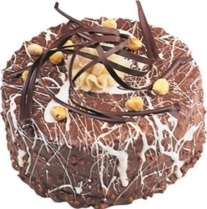 pasta satisi 4 ile 6 kisilik çikolatali yas pasta  Şırnak çiçek gönderme