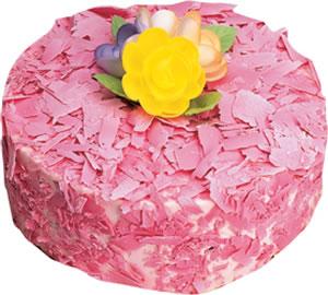 pasta siparisi 4 ile 6 kisilik framboazli yas pasta  Şırnak çiçek satışı