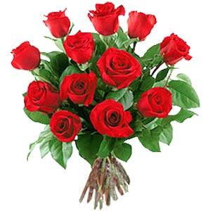 11 adet bakara kirmizi gül buketi  Şırnak çiçek yolla , çiçek gönder , çiçekçi