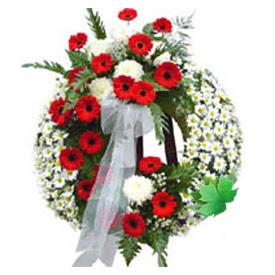 Cenaze çelengi cenaze çiçek modeli  Şırnak hediye sevgilime hediye çiçek