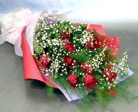 10 adet kirmizi gül çiçegi gönder  Şırnak çiçek servisi , çiçekçi adresleri