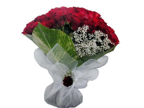 25 adet kirmizi gül görsel çiçek modeli  Şırnak güvenli kaliteli hızlı çiçek