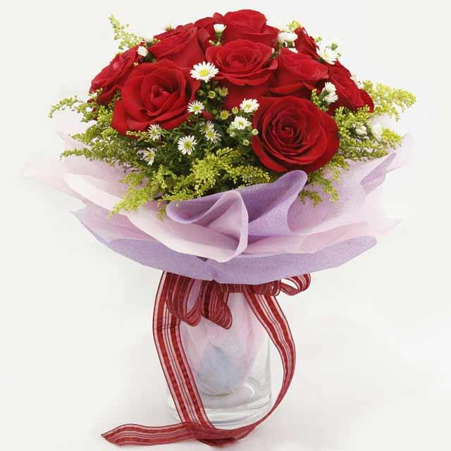 Çiçek gönderme estetikliginiz 11 gül buket  Şırnak çiçekçiler
