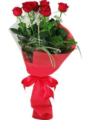 7 adet kirmizi gül buketi  Şırnak çiçek yolla